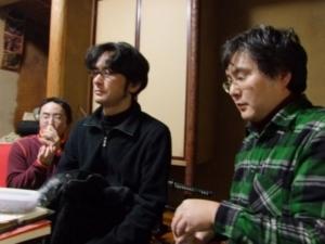 志士丸さんと春宮さんと北大路さん